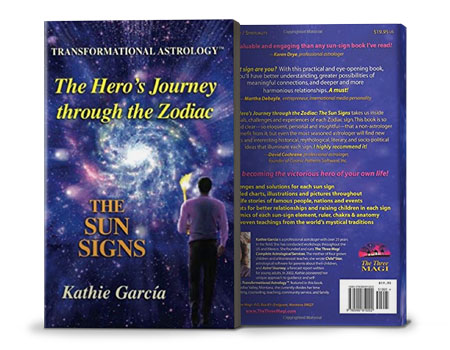 the heros journey through the zodiac book Kathie Garcia