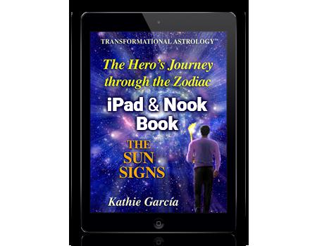 the heros journey through the zodiac book Kathie Garcia for iPad & Nook
